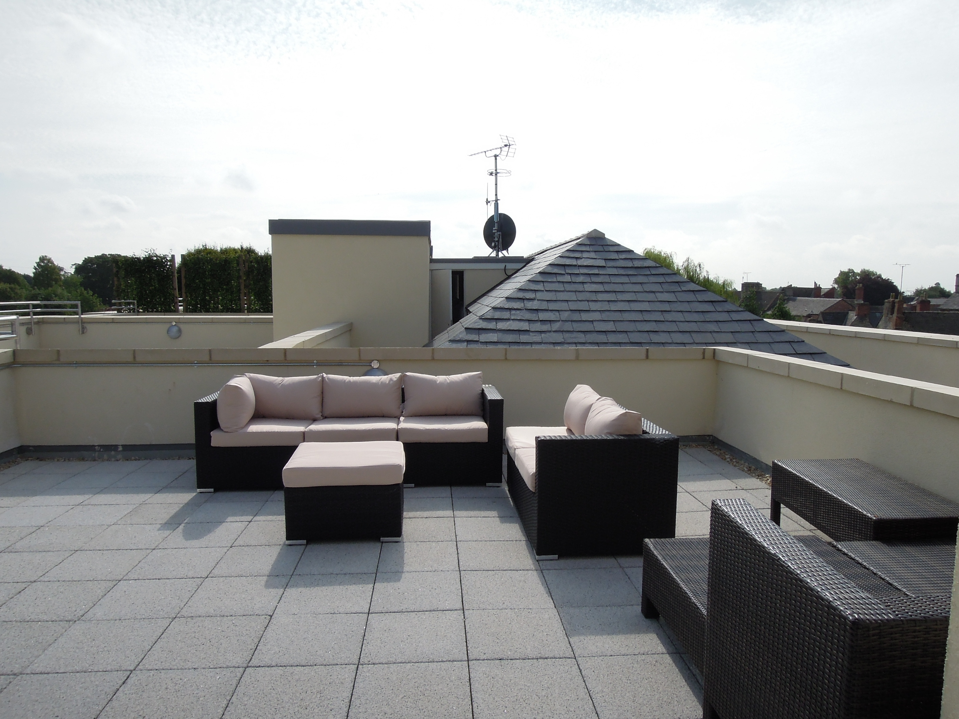 Woolrich House roof terrace
